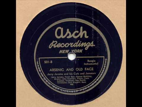 JERRY JEROME   ARSENIC & OLD FACE