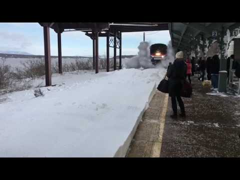 Thumbnail: Amtrak Snow-mo Collision - Time in a Bottle