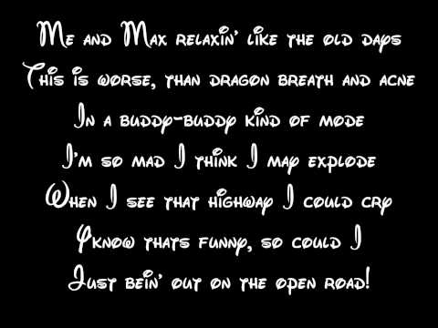 On The Open Road - A Goofy Movie Lyrics HD