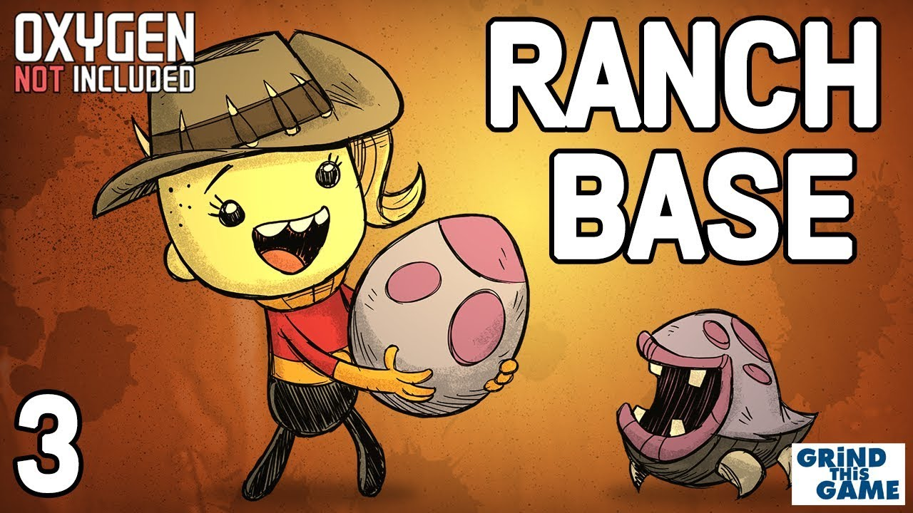 NEW RANCHING UPGRADE BASE #3 - Oxygen Not Included - Puft eggs and Hatch  Eggs and New Geysers