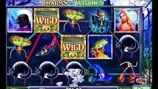 La machine à sous du charme et des sorcières: Charms and Witches 👹👹👹