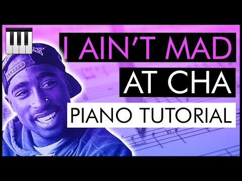Jazz Piano Lesson #8: Tupac - 'I Ain't Mad At Cha' (Piano Tutorial)
