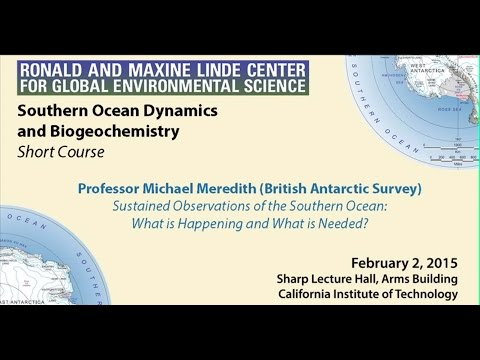 Sustained Observations of the Southern Ocean: What is Happening and What is Needed?