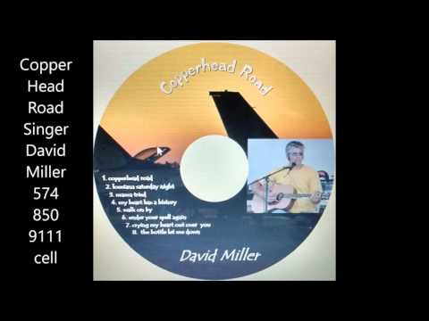 Copperhead Road  Singer David Miller  CD album