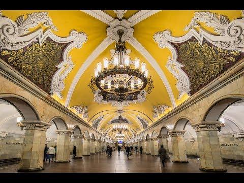 Mosca: La Metropolitana più bella del Mondo [SUB ENG]