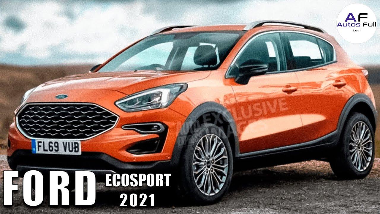 Ford Ecosport 2021 | Con el diseño de Ford Escape 😱🔥🔥