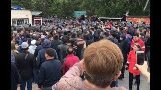 Жесткие столкновения с полицией на митингах в Казахстане. 9.06.2019 / БАСЕ