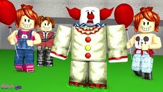 Roblox - PALHAÇO VEM AQUI! (Escape the Clown)