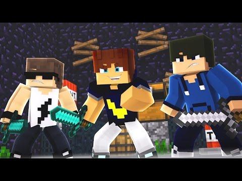 Minecraft: INVASÃO NA BASE! (Factions Ice) #49