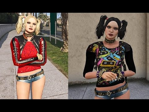 GTA V MODS Harley Quinn Retexture