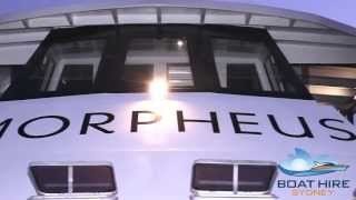 Morpheus - Boat Hire Sydney
