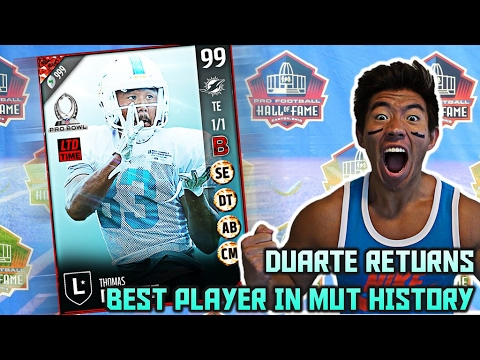 DUARTE THE GOAT RETURNS! BEST PLAYER IN MADDEN IN HISTORY OF EARTH! MADDEN ULTIMATE TEAM 17 *SPOOF*