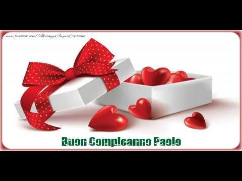 Happy Birthday Paolo! Buon Compleanno Paolo!