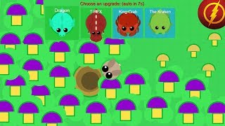 Mope.io I Ate All the Mushrooms on the Map