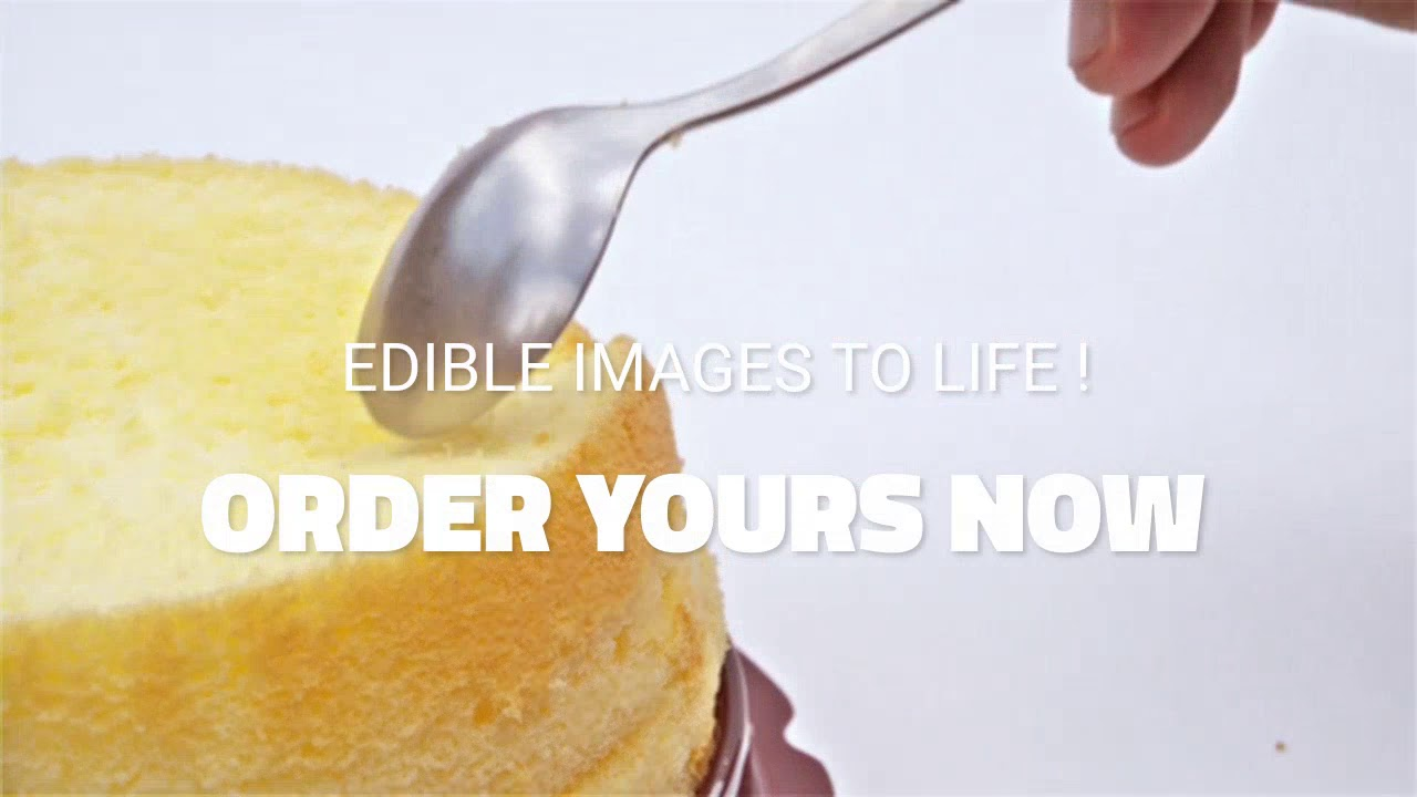 Custom printed edible images YouTube
