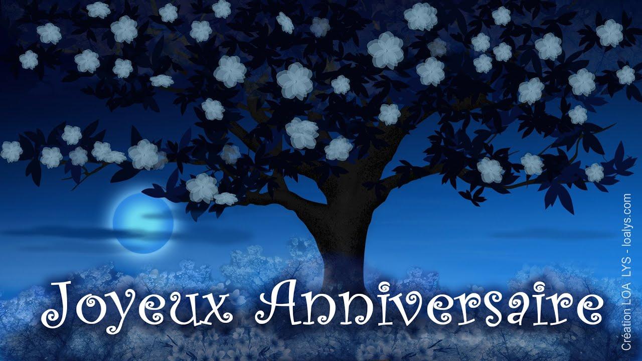 Joyeux Anniversaire Jolie Carte Virtuelle Anniversaire Gratuite