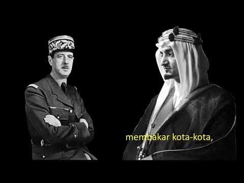 Dialog Raja Faisal dan Presiden Perancis
