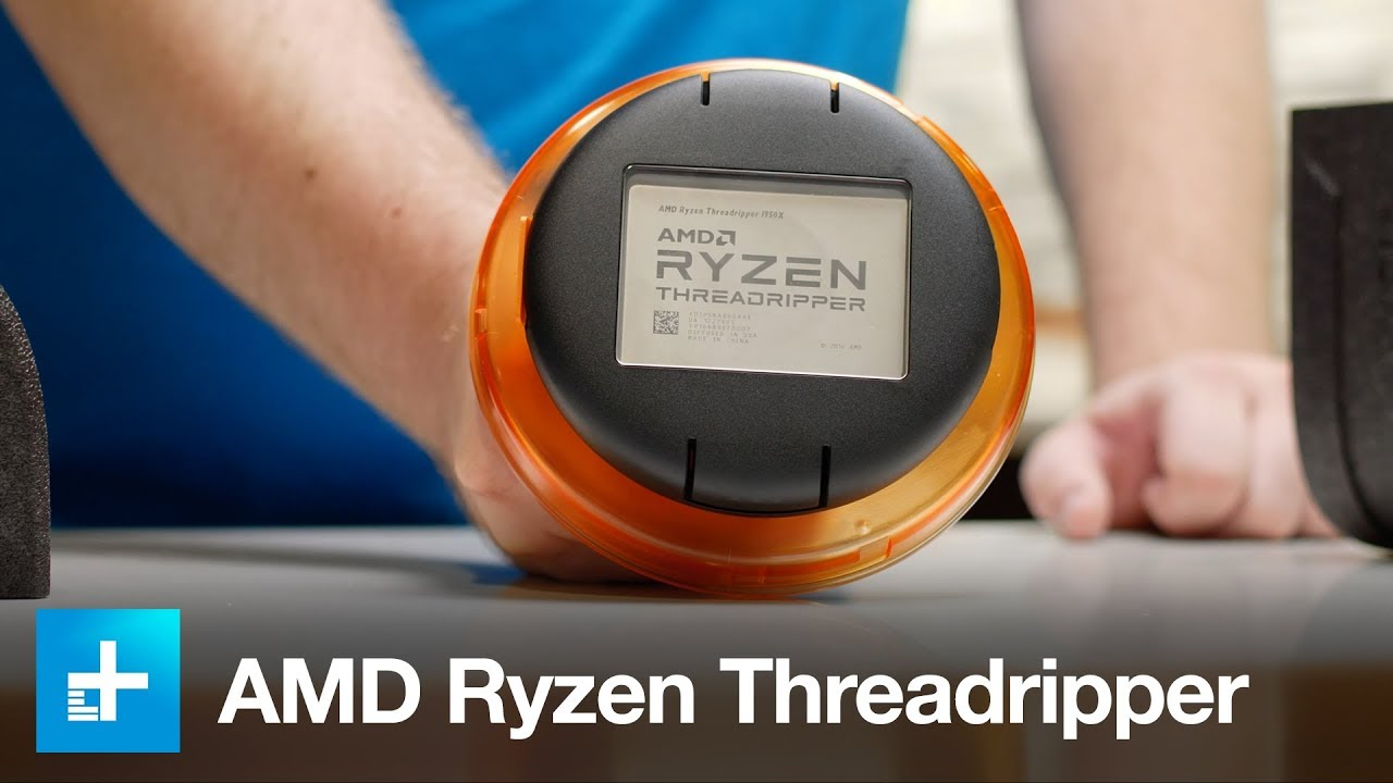 AMD Ryzen Threadripper 1920X and 1950X – Hands On Review