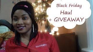 Black Friday Haul 2013 + Giveaway!