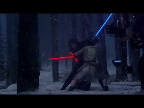 Star Wars The Force Awakens - Behind The Scenes - Making of The Snow Fight Part 4