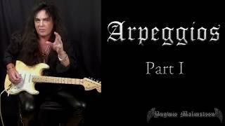 Yngwie Malmsteen Lesson - Arpeggios Part 1