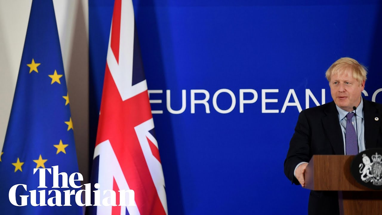 Brexit: Boris Johnson gives speech on UK's priorities for UK-EU trade deal – watch live