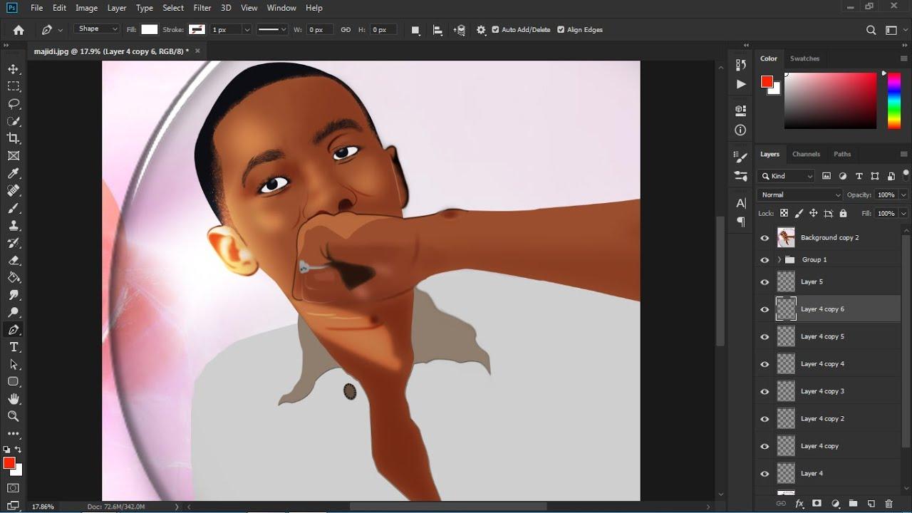 Download JINSI YA KUTUMIA ADOBE PHOTOSHOP KUEDIT PICHA KUWA KATUNI how to use adobe photoshop to edit cartoon