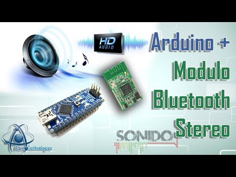 Arduino + Modulo de sonido Bluetooth (Arduino + Bluetooth Stereo Module XS-3868 )