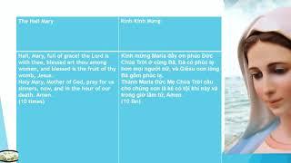 KINH MÂN CÔI 5 Sự Thương-  Tiếng Anh-Song Ngữ Anh Việt