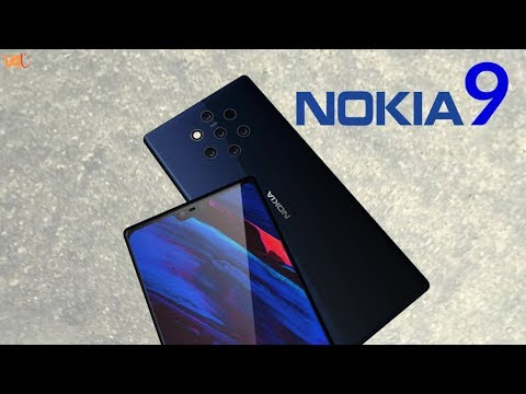 Nokia 9 with Five Cameras on The Back, Price, Release Date, Trailer, Launch, First Look, Leaks 2018
