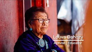 Louva Dahozy - Navajo Broadcaster - Living History