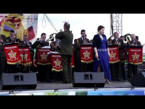 Impreza w Dzień Zwycięstwa w Mińsku