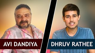 Dhruv Rathee and Avi Dandiya Debate | Bullet Train, Indian Economy, Demonetization
