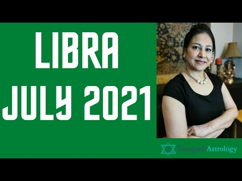 Libra Horoscope   July 2021   Monthly Predictions   Vedic Astrology