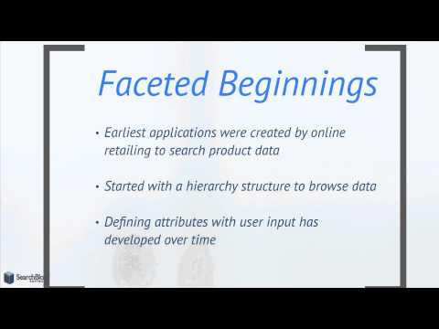 What is Faceted Search?