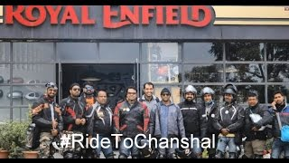 Day1 - A Refreshing Ride To Chanshal Pass on Royal Enfield