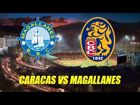 CARACAS vs MAGALLANES EN VIVO 7 NOV 2019