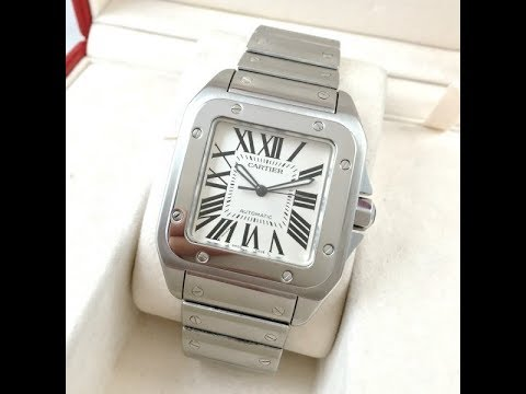 829ddb6f622ee EWC Review- Cartier Santos 100 XL 2009 Mint with box and papers