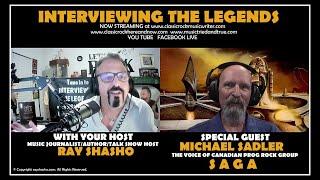 Michael Sadler The Voice of 'SAGA' Talks 'Symmetry'
