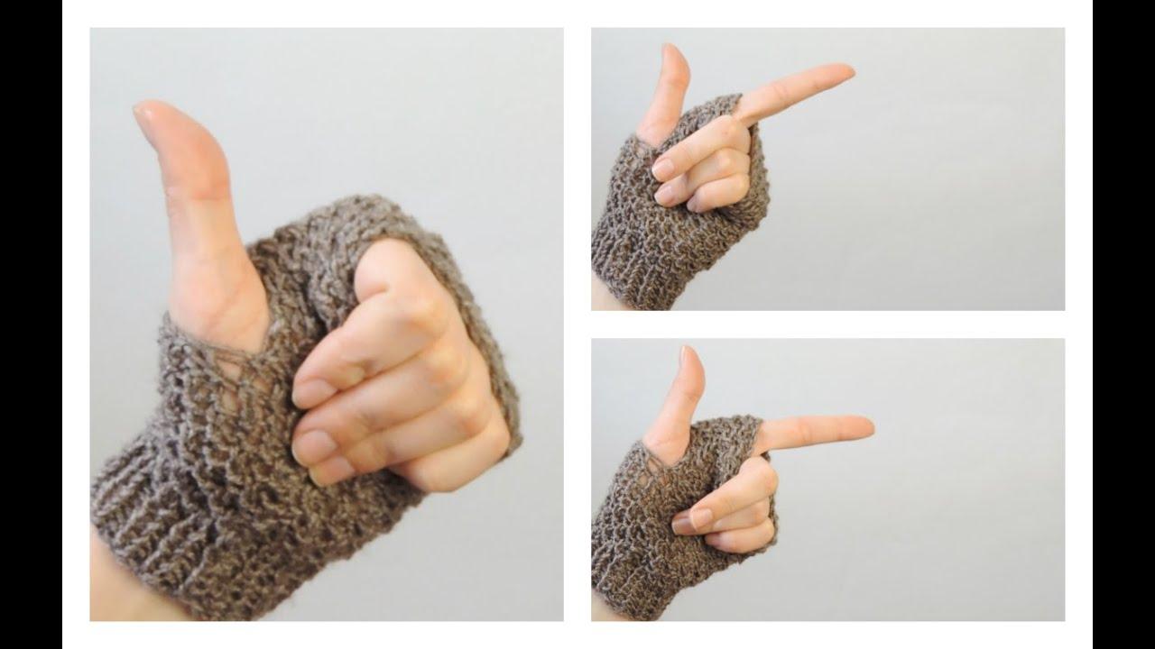Как связать митенки на двух спицах | ANNETORIUM knits