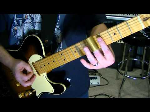 Trying Different Slide Bars On Electric & Acoustic Guitar With Scott Grove