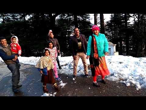 Patnitop snow dance
