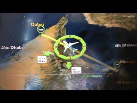 [TRIP REPORT] Air Oman Flight Muscat (MCT) Oman to Dubai (DXB) UAE B787-8 WY609
