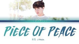 BTS J-Hope - P.O.P (Piece Of Peace) Pt.1 (방탄소년단 제이홉 - P.O.P) [Color Coded Lyrics/Han/Rom/Eng/가사]