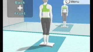 Wii Fit Plus Yoga Playthrough Part 1