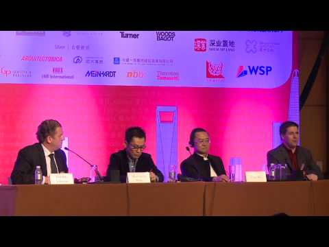 CTBUH 2014 Shanghai Conference - Day 3 Plenary: Sustainable Vertical Urbanism Q & A Session