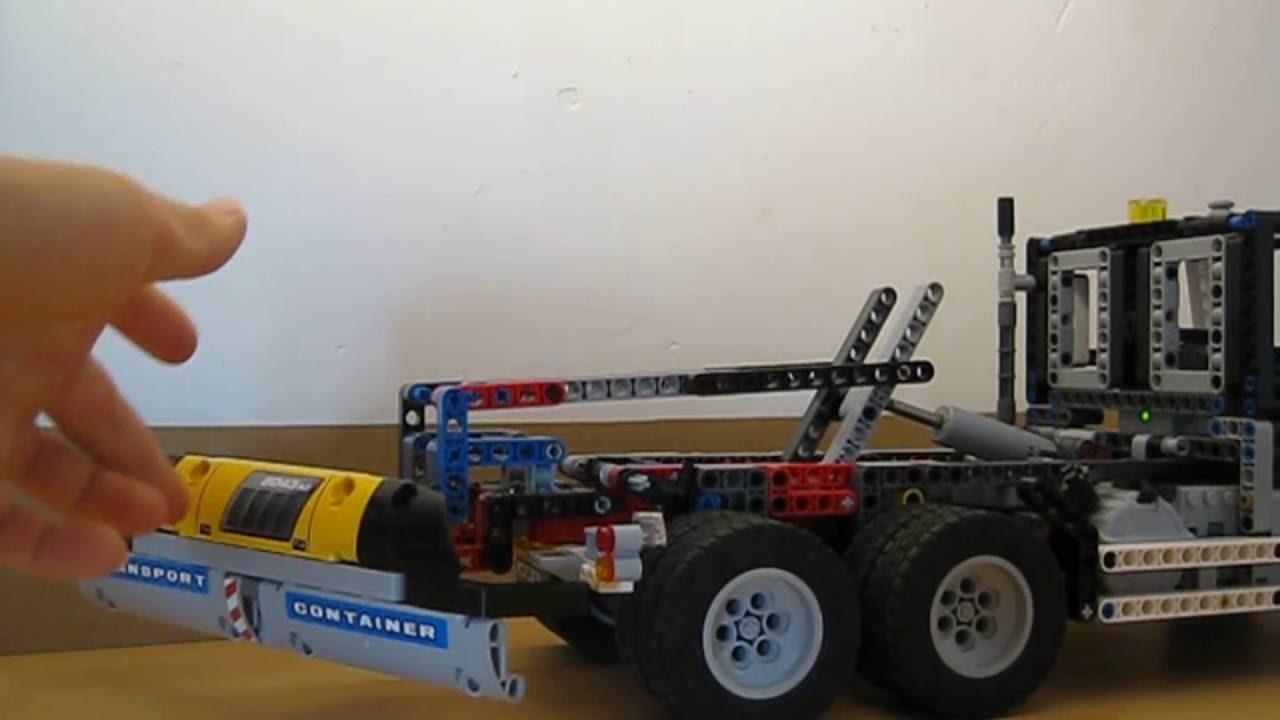 moc lego technic camion benne partie 1 youtube