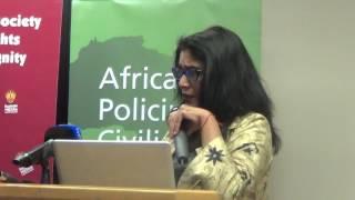 COO Chantal Kisoon closes the Police and Human Rights dialogue