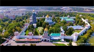Квадрокоптер DJI PHANTOM 4 // Новодевичий монастырь, Москва / Novodevichy Convent, Moscow, Russia