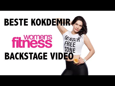 WomensFitness Backstage Video for Beste Kökdemir